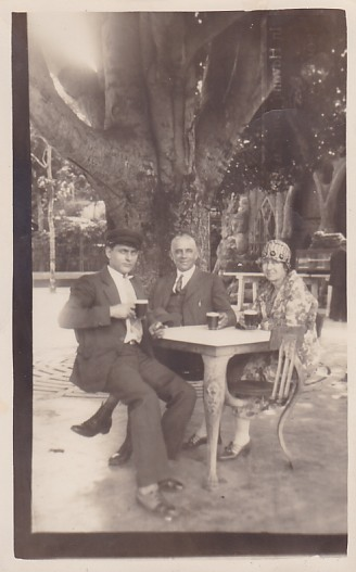 Tropical Beer Garden, 1928
