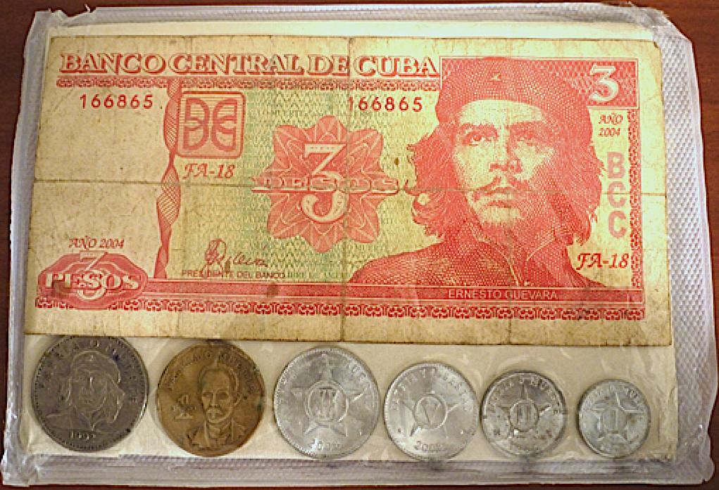 Figure 2. Cuban Peso Souvenir