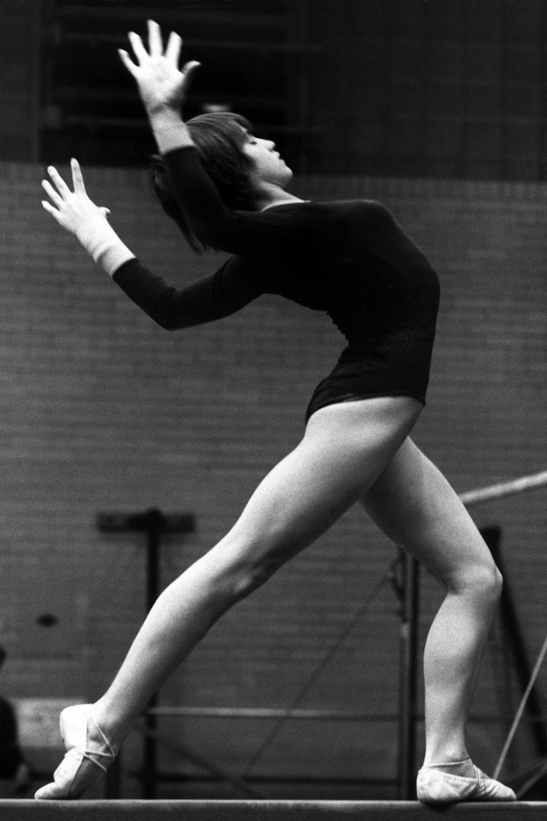 Nadia Comaneci, by Dave Gilbert (1977). https://flic.kr/p/2iTbf