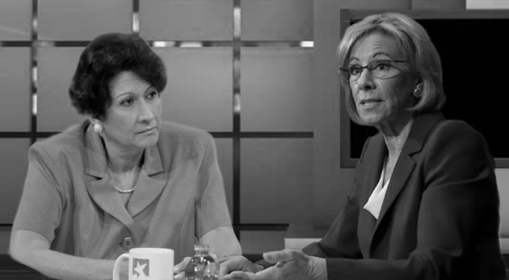 If Betsy DeVos met Ena Elsa Velázquez. By RU DAWLEY-CARR and DENNI BLUM